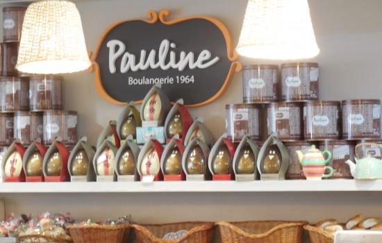 Confitería y Panadería Pauline en Buenos Aires.